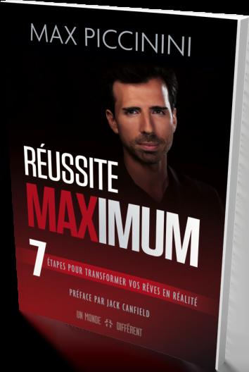 Livre Best-Seller Reussite Maximum - Max Piccinini