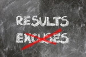 arrêter de se donner des excuses et avancer