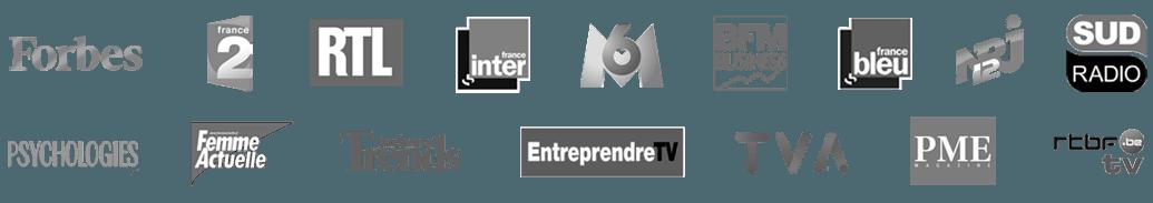 médias références de max piccinini, n°1 coach francophone en développement personnel