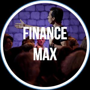 FinanceMax, le séminaire qui a pour objectif de mettre vos finances au beau fixe, pulvériser vos blocages financiers et créer l'abondance dont vous rêvez.