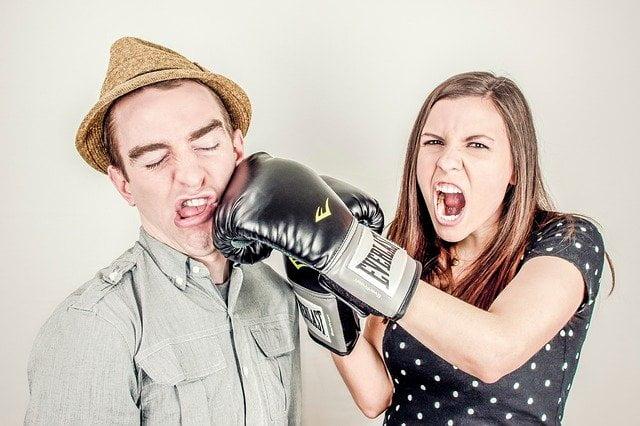les conflits dans le couple